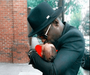 Jim Iyke shares photo with baby son