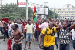 Police arrest 50 Biafra agitators in Ebonyi