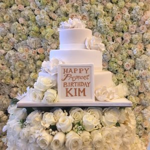Kanye surprises Wife Kim Kardashian on her 35th Birthday (Photo)