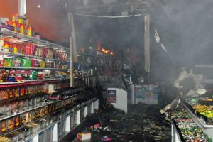 Homes, Shops, Warehouses Destroyed by Fire at Ikorodu Market in Lagos