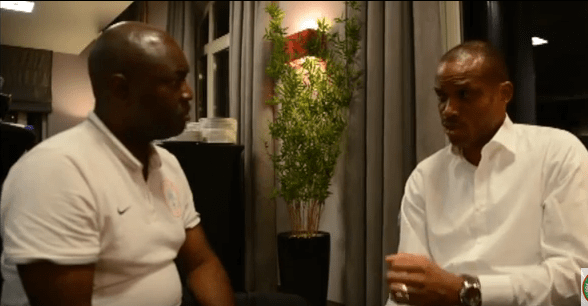 , Sunday Oliseh responds to the incident with Vincent Enyeama and his retirement from Super Eagles (Photos + Video), Effiezy - Top Nigerian News & Entertainment Website