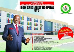 Ex Gov. Akpabio's world-class hospital finally opens 6 months after launch in Akwa Ibom (Photos)