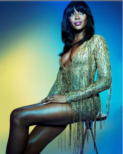 Supermodel, Naomi Campbell Is Currently In Nigeria