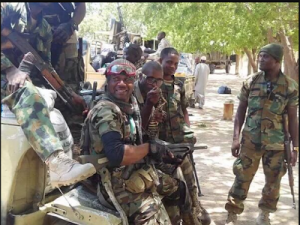 See Nigerian soldiers in high spirits, ready to battle Boko Haram (Photos)