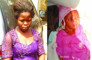 Woman nabbed for trying to sell a baby for N1m