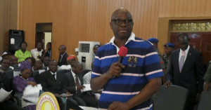 , Nigerians are hypocrites, they condemn me for wearing T-shirt but hail Mark Zuckerberg – Fayose, Effiezy - Top Nigerian News & Entertainment Website