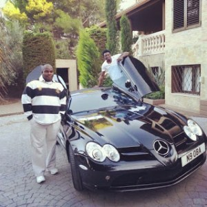 Obafemi Martins shows off his expensive cars (Photos)