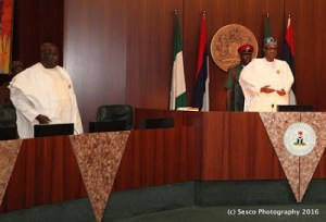 , Buhari shocks ministers with early arrival at FEC meeting, Effiezy - Top Nigerian News & Entertainment Website