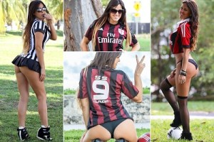 Check out  the world's most sexiest referee (Photos)