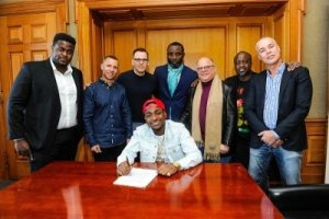 Sony Music releases official statement confirming Davido's signing