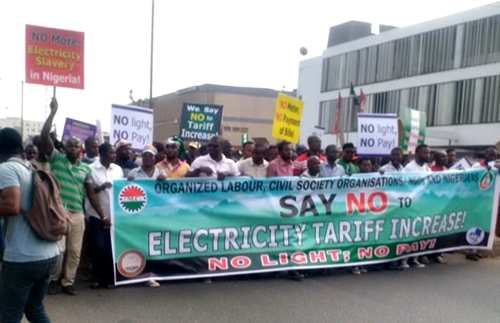 Electricity tariff Protests2