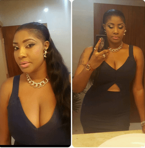 Angela Okorie shares sexy photo