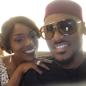 Annie Idibia gushes over husband, 2face on their 3rd wedding anniversary as she admits 'I will never leave you' (Photos)