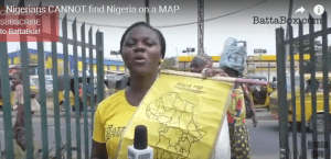 Watch: Nigerians can't find Nigeria on African map (Video)