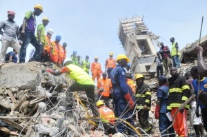 Lagos declares zero tolerance for building collapse