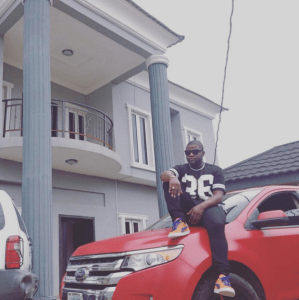 Skales shares real life motivational message (Photos)