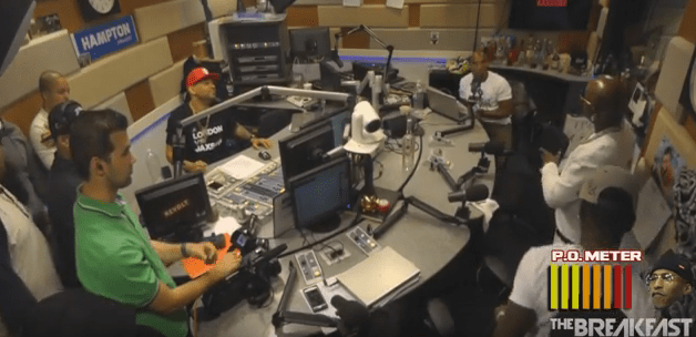 Birdman storms out Breakfast Club Interview2