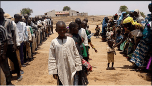 , Fresh Boko Haram refugees from Cameroon arrive IDP camp in Adamawa (Photos), Effiezy - Top Nigerian News & Entertainment Website