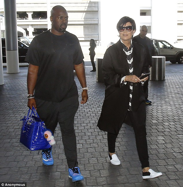 Corey Gamble and Kris Jenner2