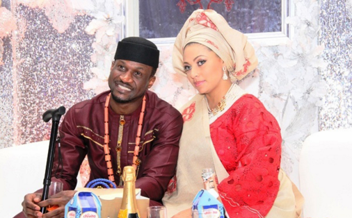 Peter Okoye and Lola Omotayo1