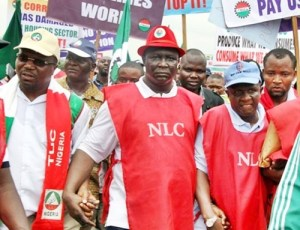 NLC Protest over fuel increase
