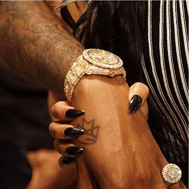 Nicki Minaj buys Meek Mill rolex watch