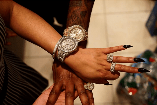 Nicki Minaj gifts Meek Mill Rolex watch for bithday