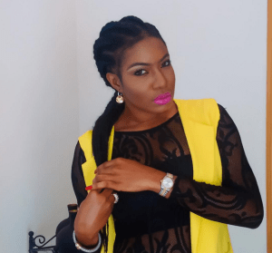 Nollywood star, Chika Ike shares pretty photos