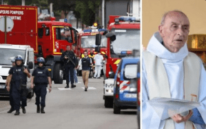 Catholic priest murdered by terrorists during church service in France