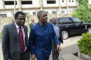 Femi Fani-kayode released after over 2 months in detention (Photo)