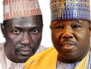(L to R) Ahmed Makarfi and Ali Modu Sheriff