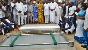 Stephen Keshi finally laid to rest (Photos)