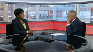 BBC presenter, Trish Adudu breaks down talking about the racial abuse suffered over Britain's vote to leave EU (Video)