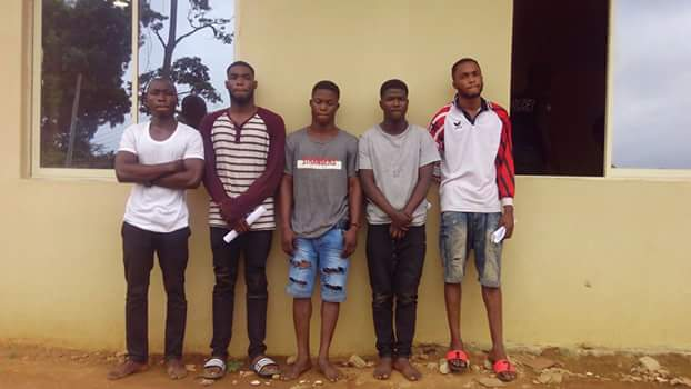 Undergraduates arrested over internet fraud