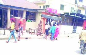 Suspected cultists kill Poly student, two friends in a Lagos restaurant (Photo)