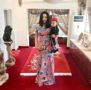 Precious Femi Fani-Kayode steps out with son, Aragorn.