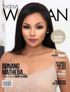 The best things come in Double! Bonang Matheba and Toke Makinwa cover Today's Woman Magazine