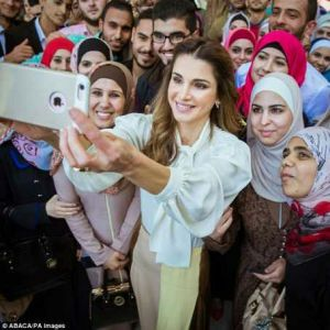 It's a job like any other,its not all about the crown or Castle- Queen of Jordan