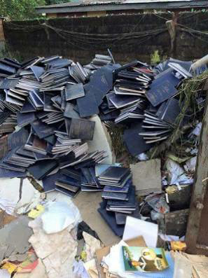 University of Calabar Authorities dispose of some students project work