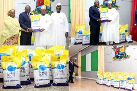 , Lagos and Kebbi States launch Lake rice,to sell as low as #2,500, Effiezy - Top Nigerian News & Entertainment Website