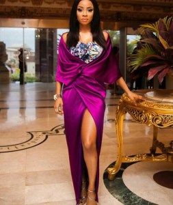 """Leave Our Father Alone""- Children of Billionaire Festus Fadeyi warn Toke Makinwa"