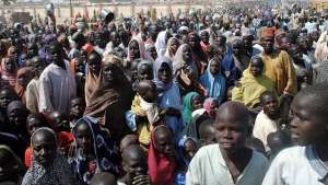 """Protest as IDPs intercept truck-load of """"stolen"""" relief materials"""