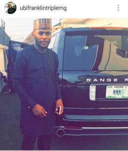 """Ubi Franklin Throws A """"Welcome Home"""" Party For His Babymama and Daughter From America (Video)"""