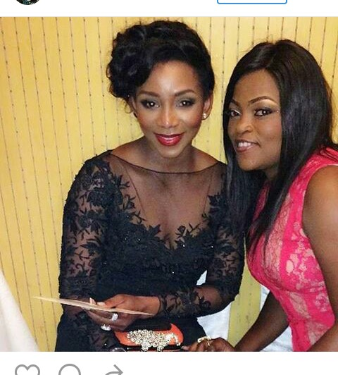 , Genevieve shares picture with Funke Akindele, Effiezy - Top Nigerian News & Entertainment Website