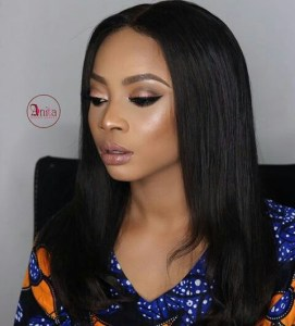 Toke Makinwa is levitating,steps out in style for MTV Base Interview