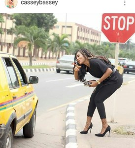 Check out this funny post made by Instagram big girl,Cassey Bassey