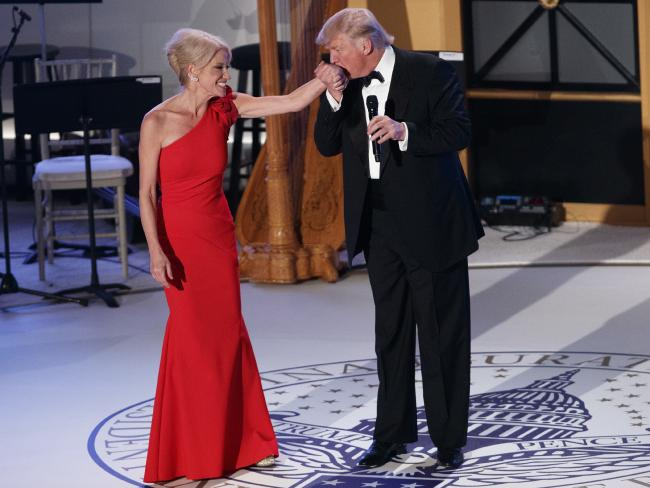 , Kerryane Conway ,Trump's adviser punches man at inaugural ball, Effiezy - Top Nigerian News & Entertainment Website