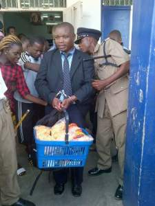 Man arrested for stealing Baby food in Malawi.