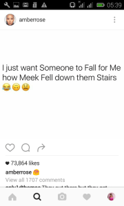 Amber rose shades Meek Mill in hilarious meme
