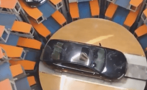Check out this underground car park in China (Video)